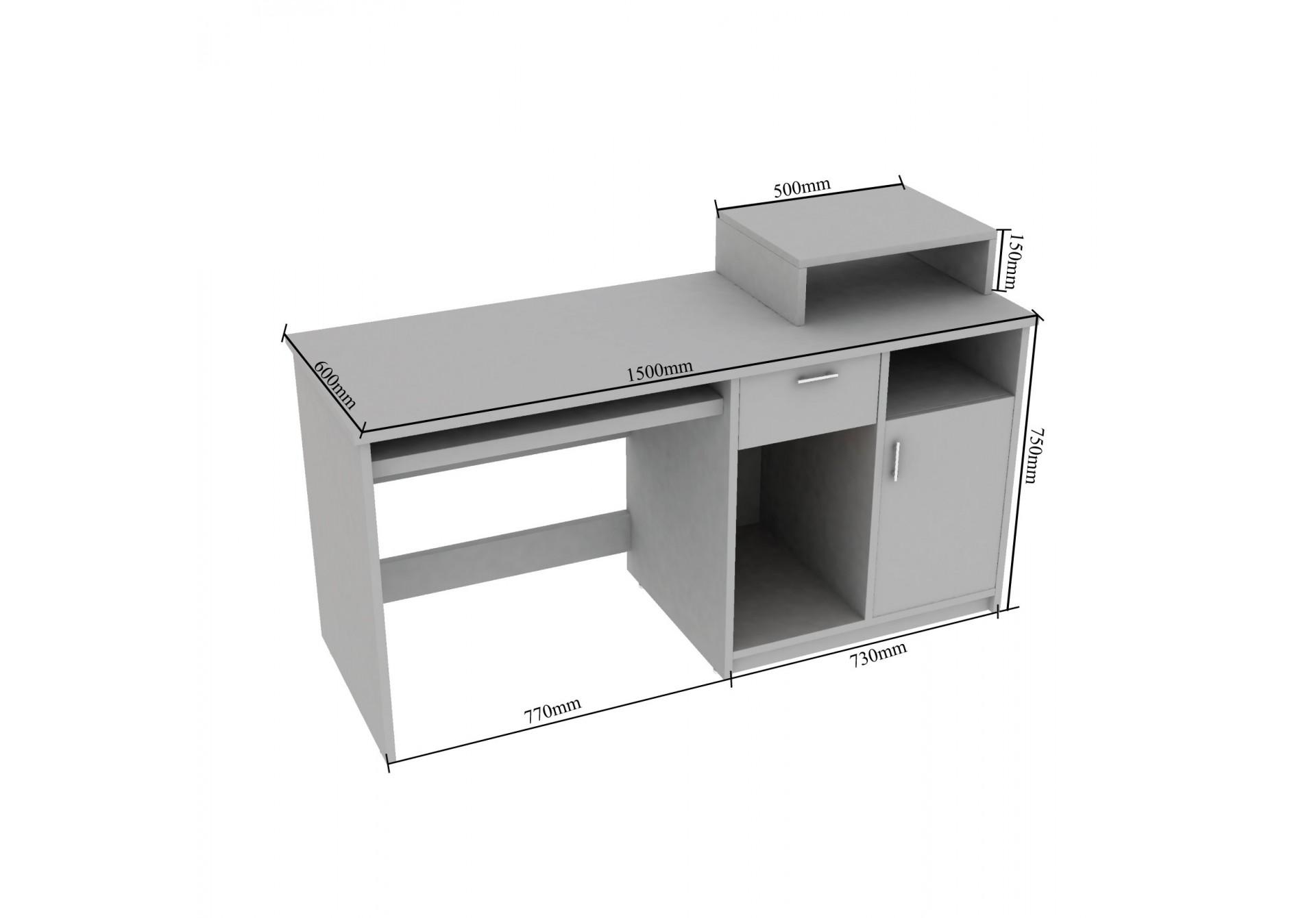 Lure Modular Study Tables <small>(Walnut)</small>