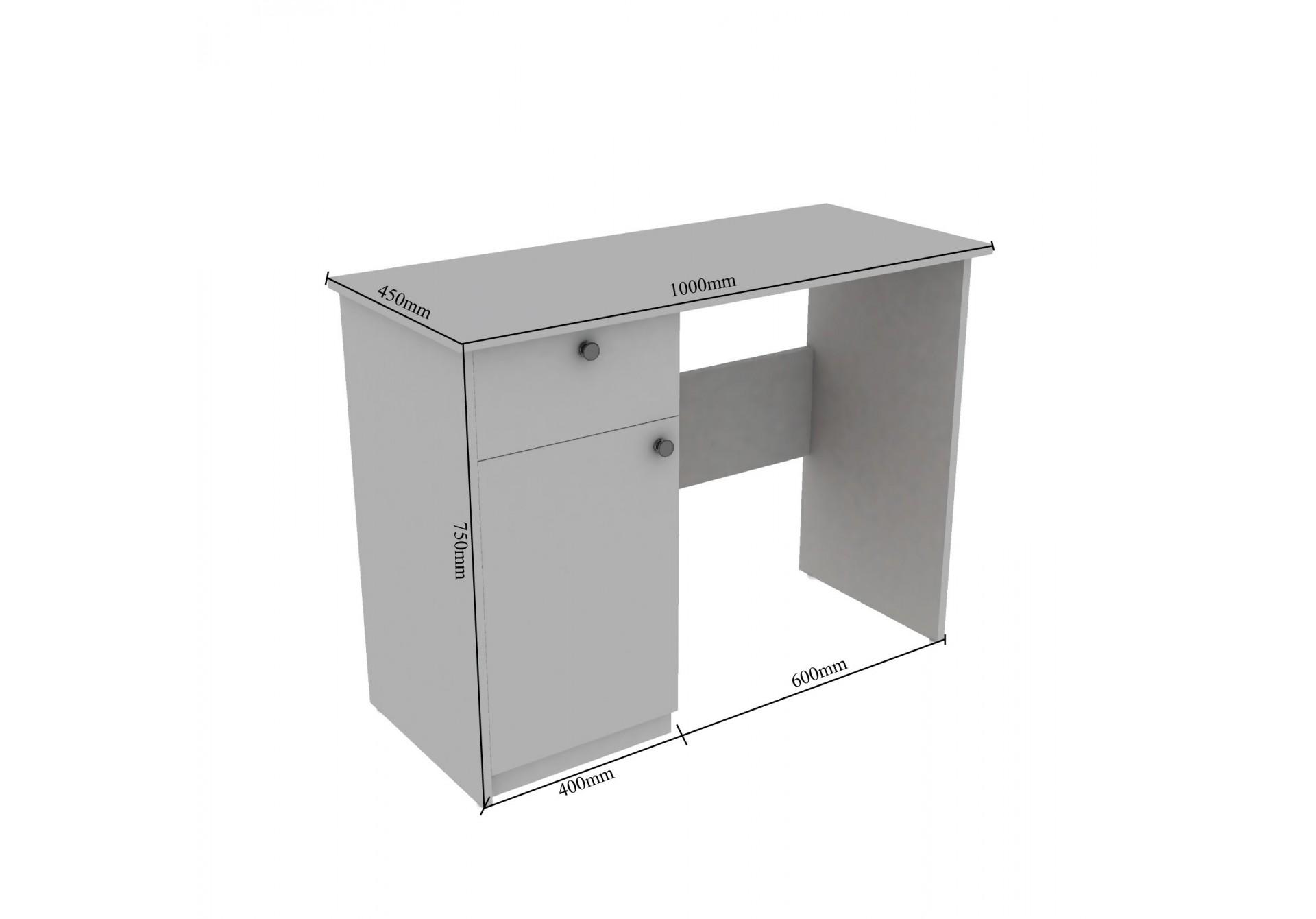 Zen Modular Study Tables <small>(Walnut)</small>