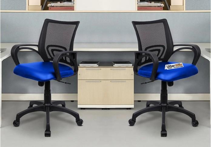 Jordan Office Chair (Black + Royal Blue)
