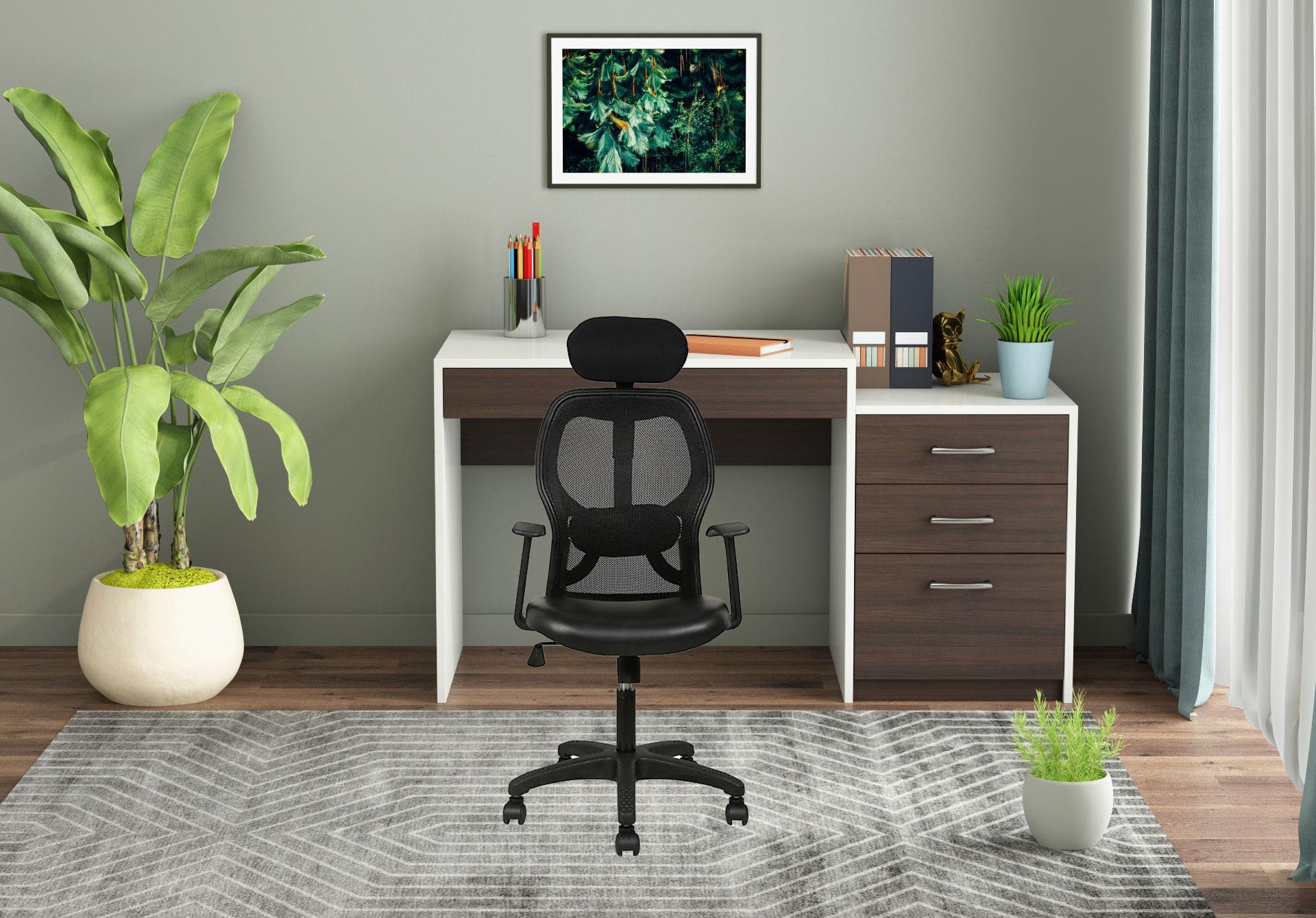 Medrick Office Chair <small>(Black)</small>