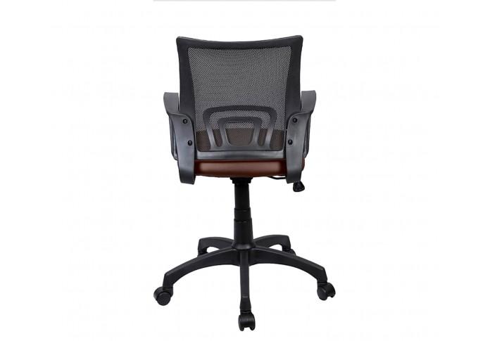 Morgan Office Chair (Black + Brown)