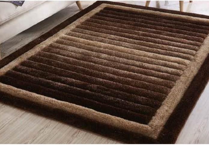 Carpetsry Brown Colored Rug ( 8 L x 5 W )