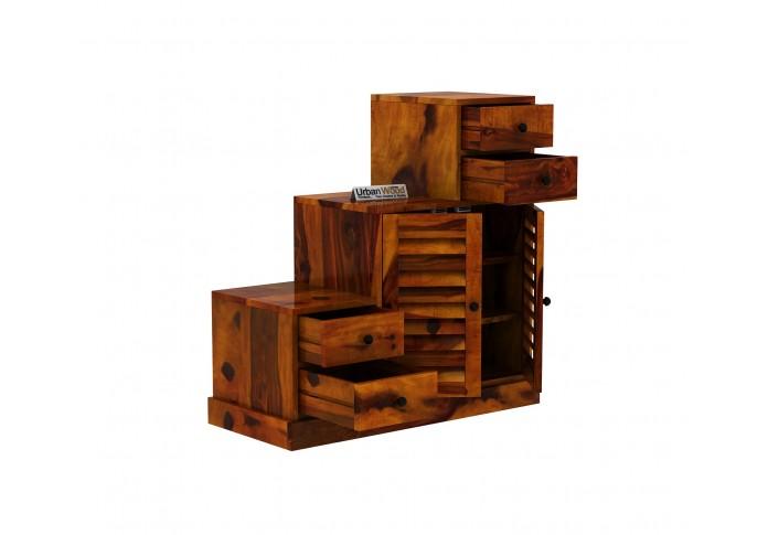 Driftwood Shoe Racks ( Honey Finish )