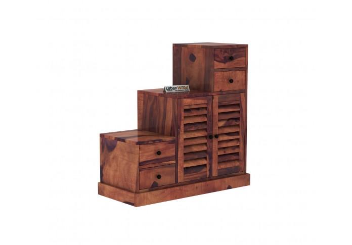 Driftwood Shoe Racks <small>( Teak Finish )</small>