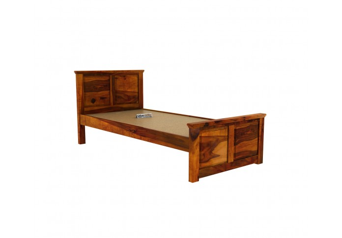 Babson single bed without storage ( Honey Finish )
