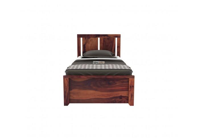Topaz Single Bed Without Storage ( Teak Finish )
