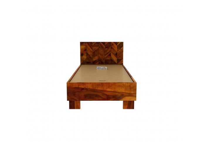 Trace Single Bed Without Storage ( Honey Finish )