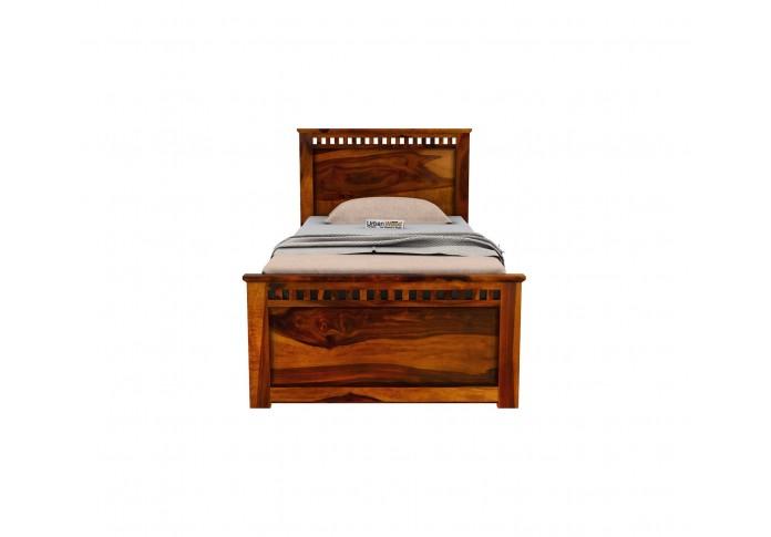 Fusion Single Bed Without Storage ( Honey Finish )
