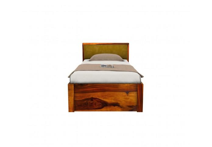 Laverock Single Bed With Storage ( Honey Finish )