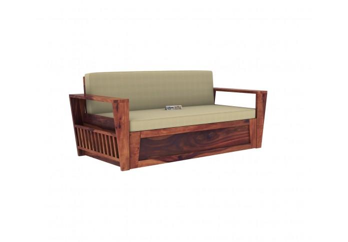 Bedex Sofa Cum Bed King Size ( Teak Finish )