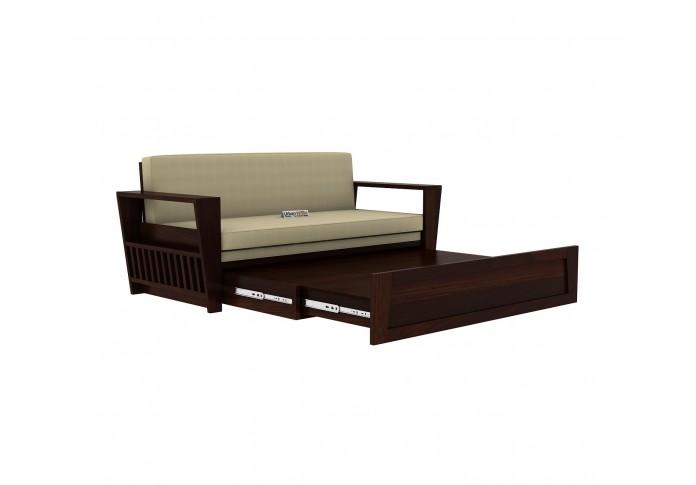 Bedex Sofa Cum Bed King Size <small>( Walnut Finish )</small>