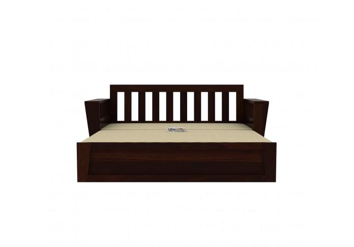 Bedex Sofa Cum Bed King Size ( Walnut Finish )