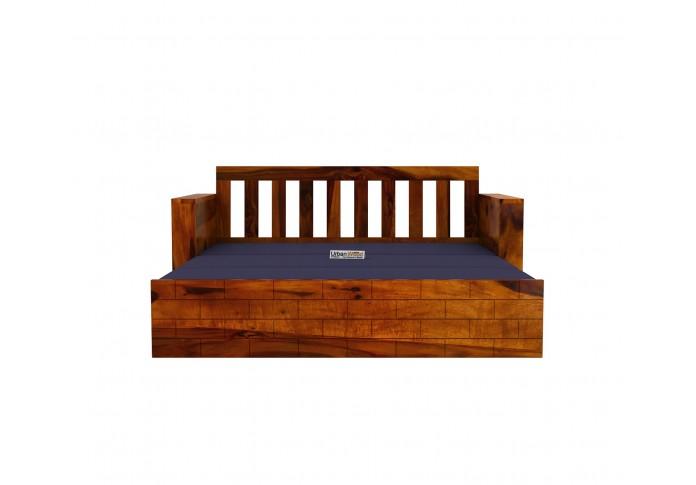 Cumry Sofa Cum Bed King Size ( Honey Finish )