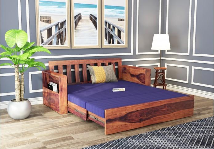 Cumry Sofa Cum Bed King Size ( Teak Finish )