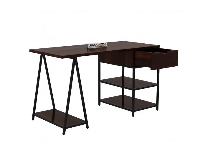 Groupe Study Tables <small>( Walnut Finish )</small>