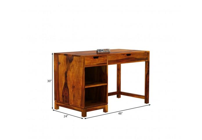 Kagiso Computer Table ( Honey Finish )