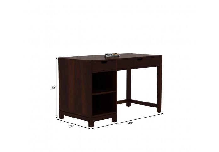 Kagiso Computer Table ( Walnut Finish )
