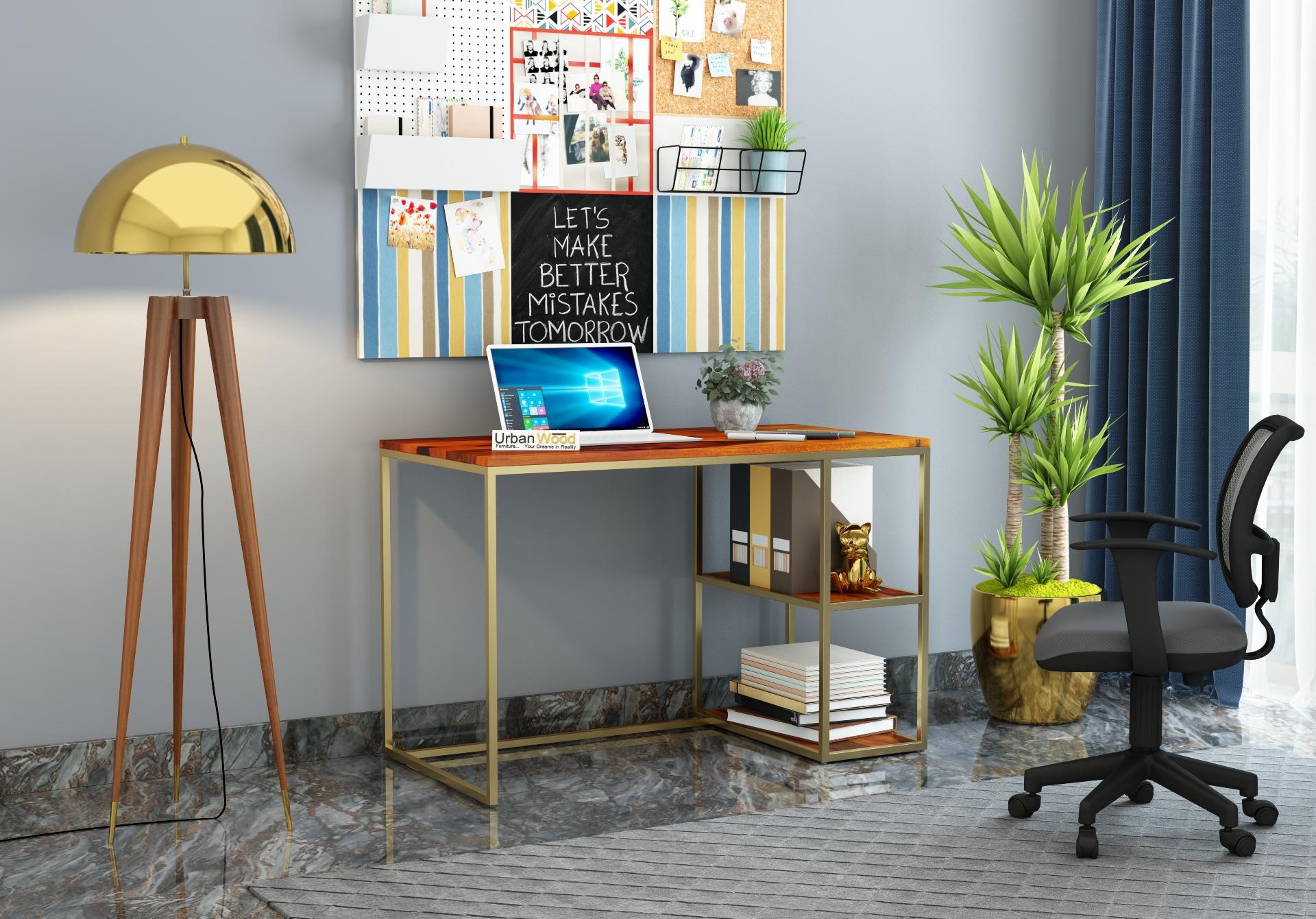 Marcus Study Tables <small>( Honey Finish )</small>
