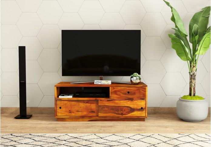 Anvil TV unit <small>(Honey Finish)</small>