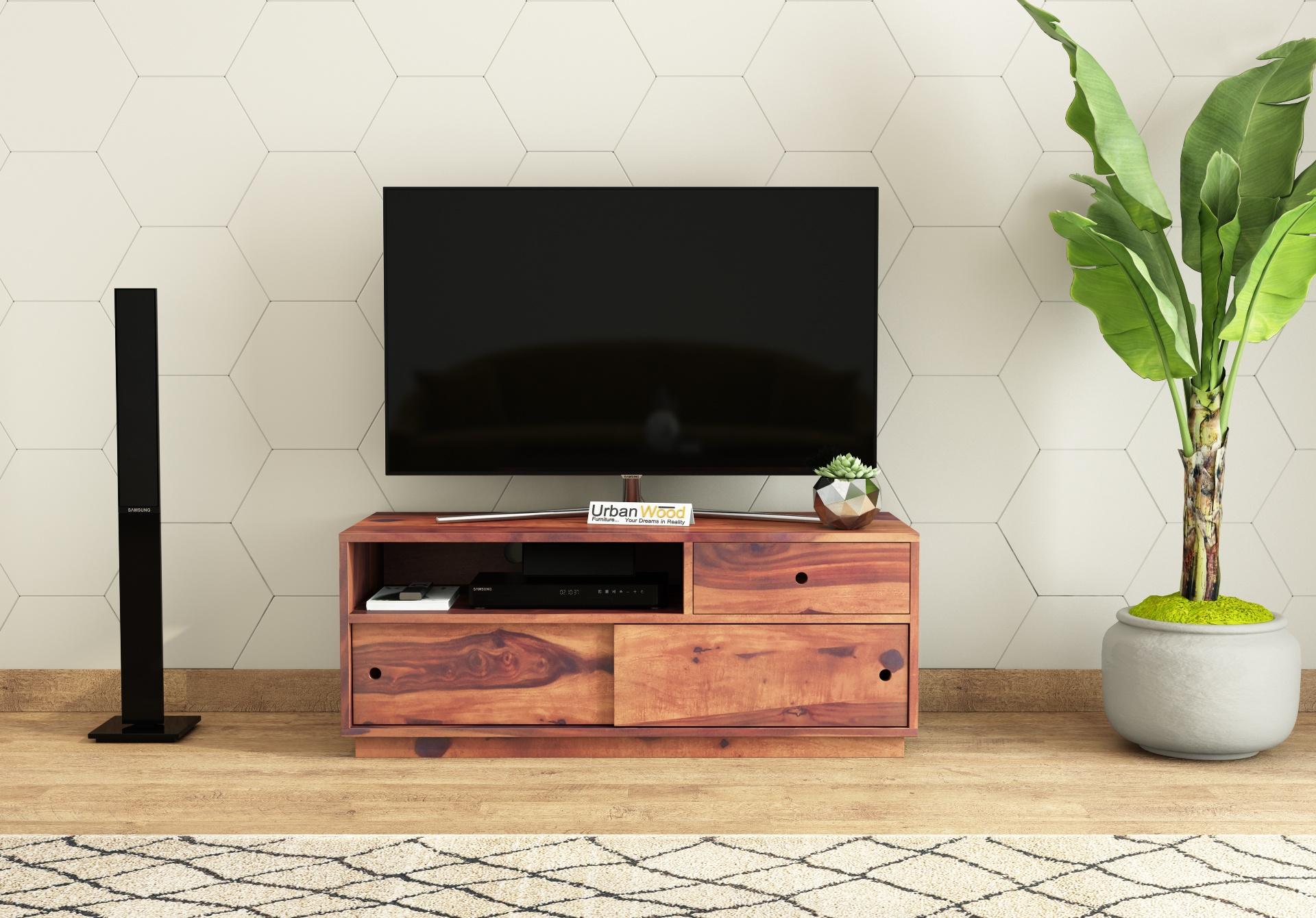 Anvil TV unit <small>( Teak Finish )</small>