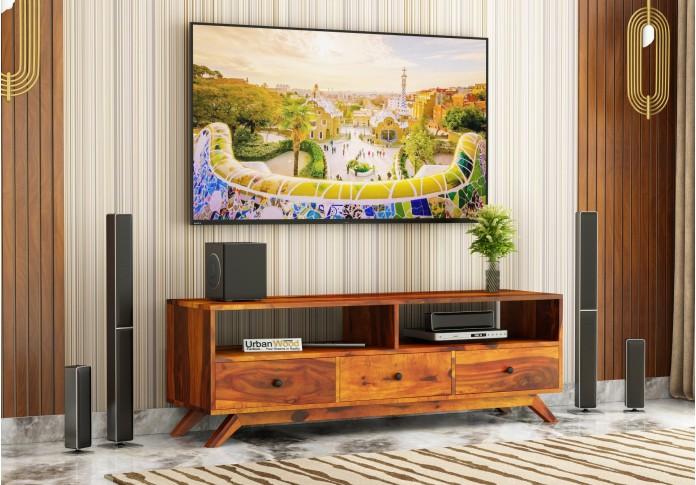 Bia TV unit ( Honey Finish )