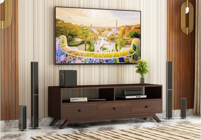 Bia TV unit <small>( Walnut Finish )</small>