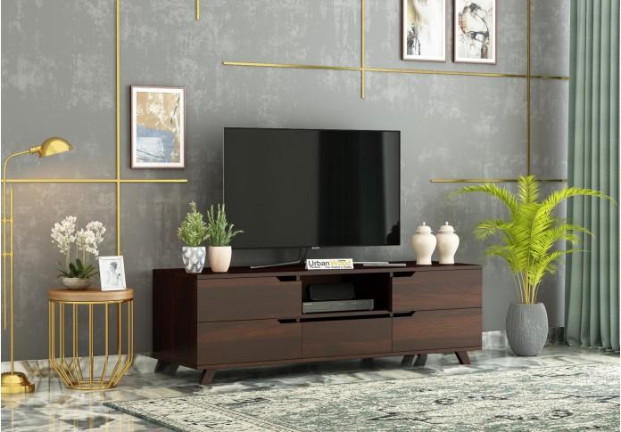Binny TV unit ( Walnut Finish )