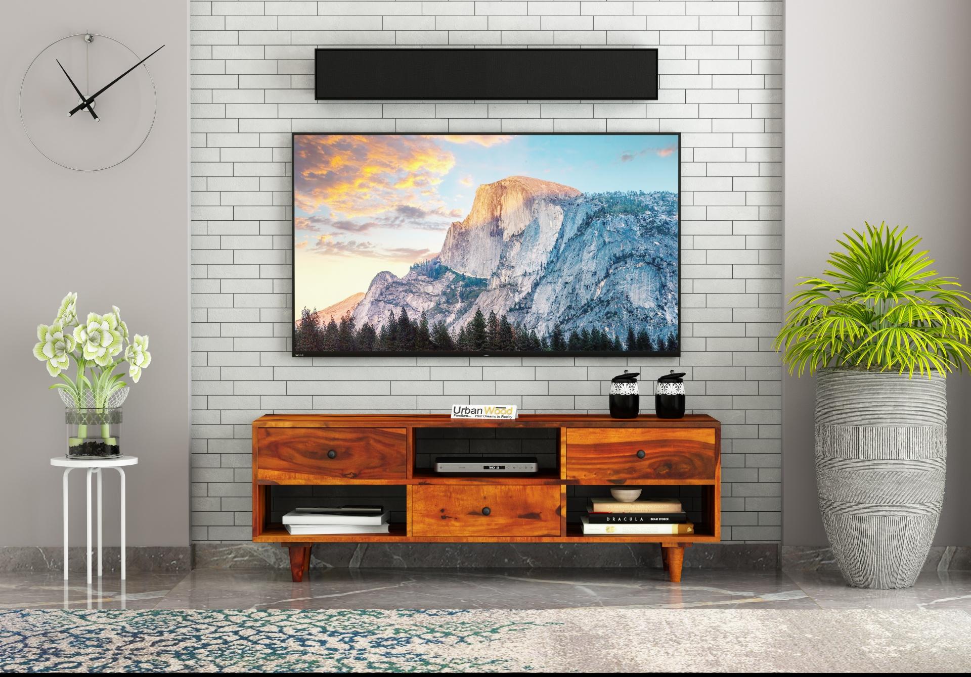 Johnson TV unit <small>( Honey Finish )</small>