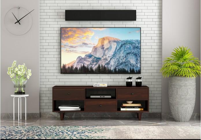 Johnson TV unit ( Walnut Finish )