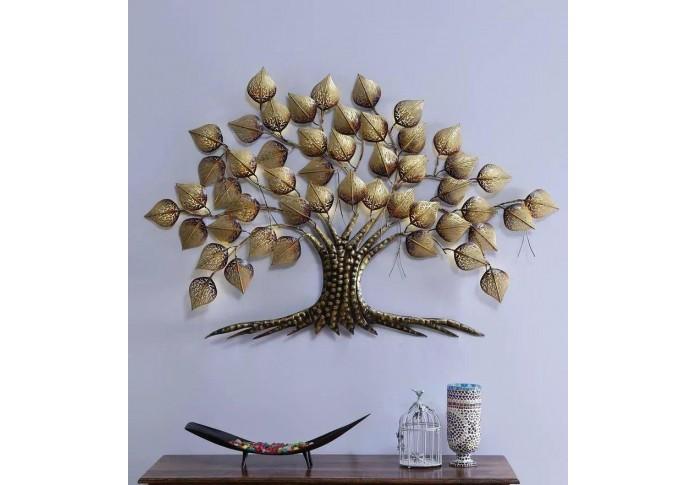 Metal Pan Tree With LED light