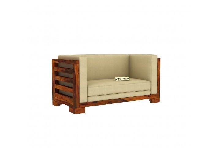 Modway Wooden Sofa Set <small>(3+2+1) ( Honey Finish )</small>