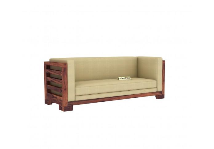 Modway Wooden Sofa Set (3+2+1) ( Teak Finish )